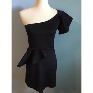 Dresses & Skirts - ✨ONE SHOULDER PEPLUM DRESS✨